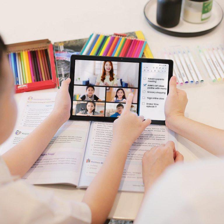 Teknologi Mumpuni, Samsung Galaxy Tab A7 Asyik Dipakai Belajar atau Berkreasi