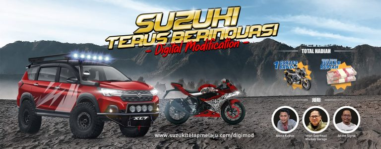 "Suzuki Gelar Kontes Modifikasi Digital ""Suzuki Terus Berinovasi"""