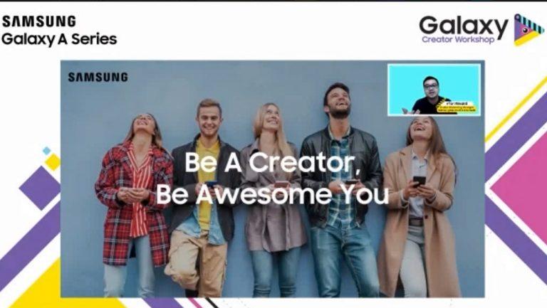 Galaxy Creator Workshop, Hobi dan Kesukaan Bisa Memotivasi Orang Membuat Konten Menarik