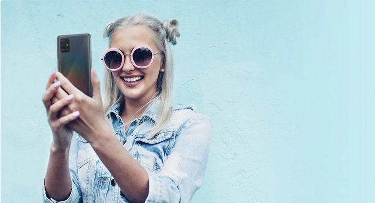 Selfie Lebih Sempurna Berkat AI Beautification di Samsung Galaxy A31