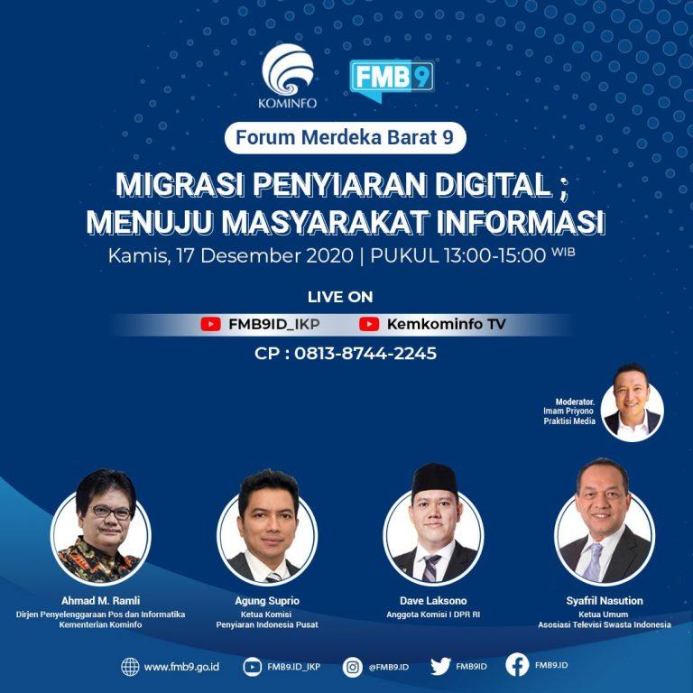 Migrasi Penyiaran TV Digital akan Berdampak pada Pertumbuhan Ekonomi