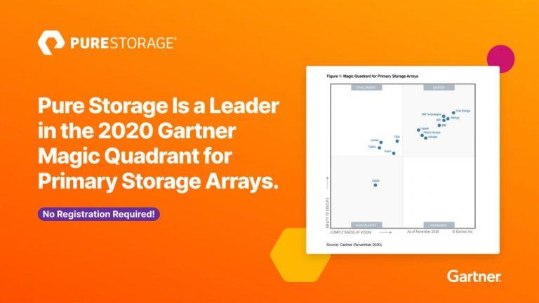 7 Tahun Berturut-turut Pure Storage Raih Predikat 'Leader' dalam Gartner Magic Quadrant