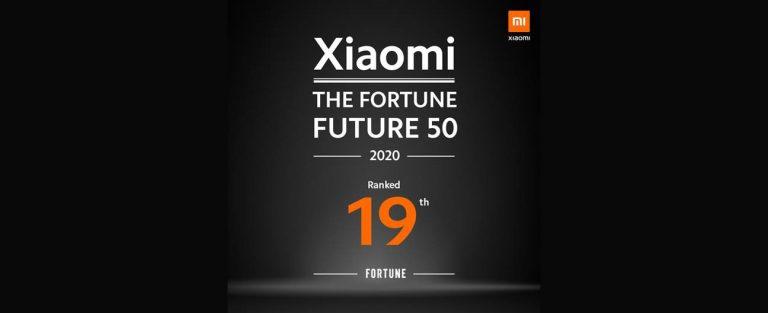 Kado Akhir Tahun 2020, Xiaomi Masuk dalam Daftar Fortune Future 50
