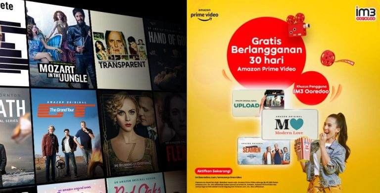 Butuh Hiburan di Rumah? Pelanggan Indosat IM3 Bisa Akses Gratis Amazon Prime Video Selama Sebulan