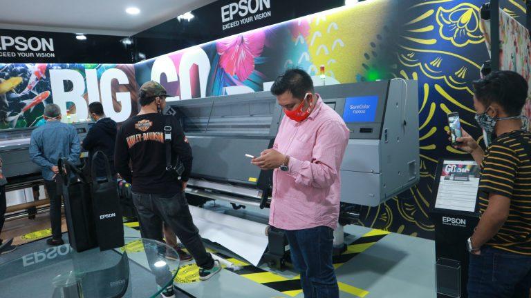 Sambut 2021 Epson Perkenalkan Printer Tekstil Industri Sublimasi 76 Inci Pertama, Epson SureColor SC-F10030