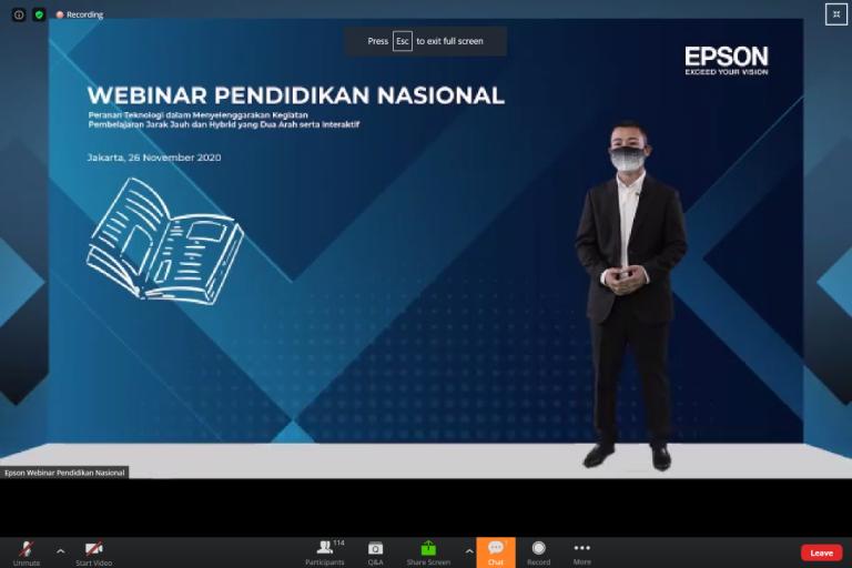 Kolaborasi dengan Asosiasi Guru dan Tenaga Pendidik Indonesia, Epson Indonesia Sukses Gelar Webinar Pendidikan Nasional
