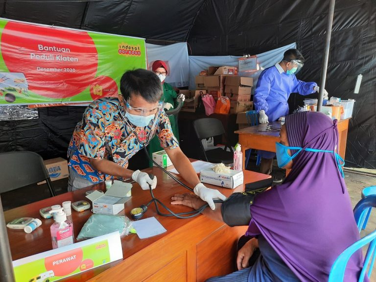 Dukung Pemerintah dalam Tanggap Darurat Bencana, Mobil Klinik Indosat Ooredoo Siap Dioperasikan di Seluruh Indonesia