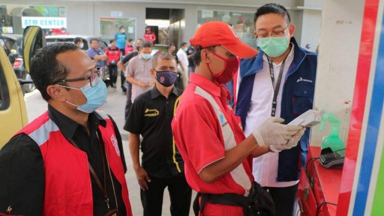 Direksi Pertamina Tinjau Stok Serta Layanan BBM dan LPG di Jalur Wisata Puncak