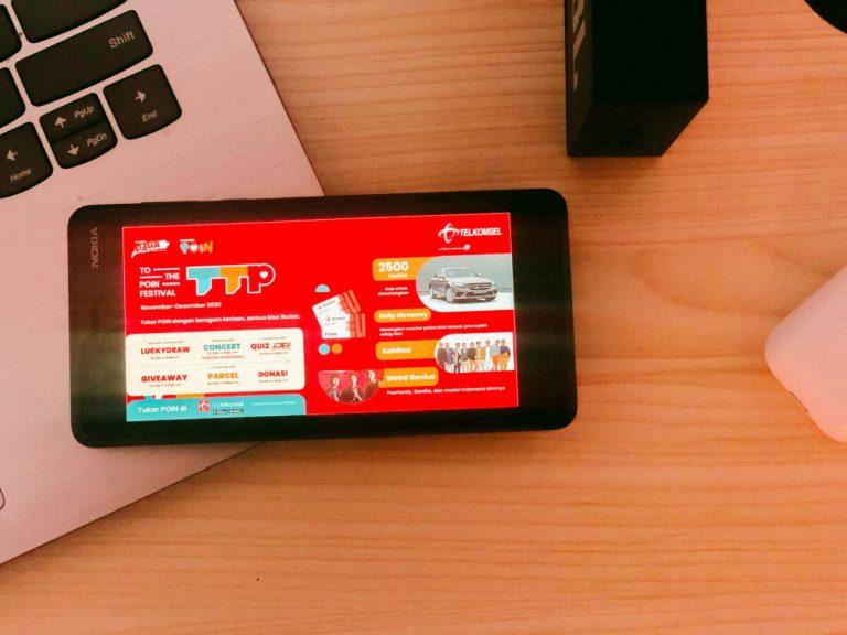To the POIN Festival: Apresiasi Telkomsel untuk Pelanggan Setia Menyambut Nataru 2021