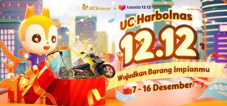 Jangan Sampai Lewat, UC Browser Umbar Banyak Diskon dan Hadiah di UC Harbolnas 12.12