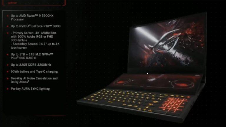 Asus Perkenalkan Jajaran Laptop ROG Terbaru di CES 2021, Berikut Aksesorinya