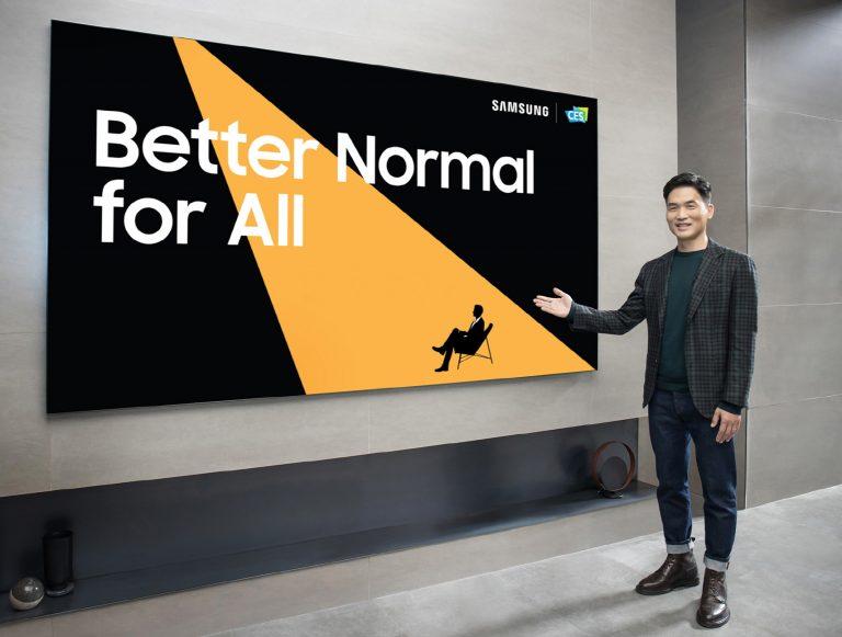 """""""For Better Normal"""", Inilah Deretan Inovasi Terbaru Samsung di CES 2021"""