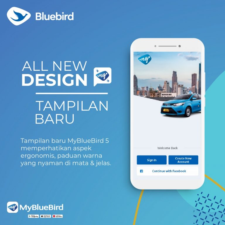 Hadir dengan Fitur Segar, Bluebird Resmi Luncurkan Aplikasi MyBlueBird 5