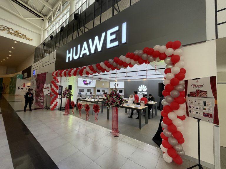 Awal Tahun 2021, Huawei High-end Experience Stores Hadir di Tiga Mall Ini