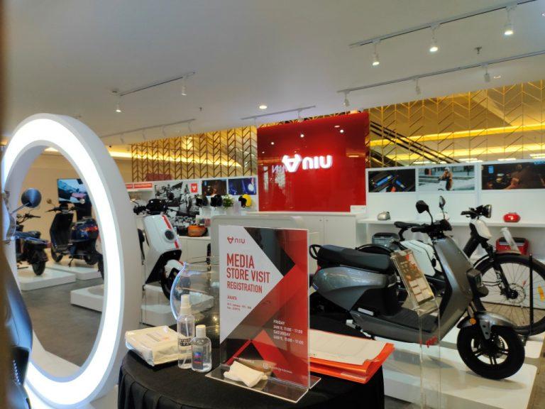 Ingin Ramaikan Pasar Motor dan Sepeda Listrik, NIU Buka Premium Store di Grand Indonesia Jakarta