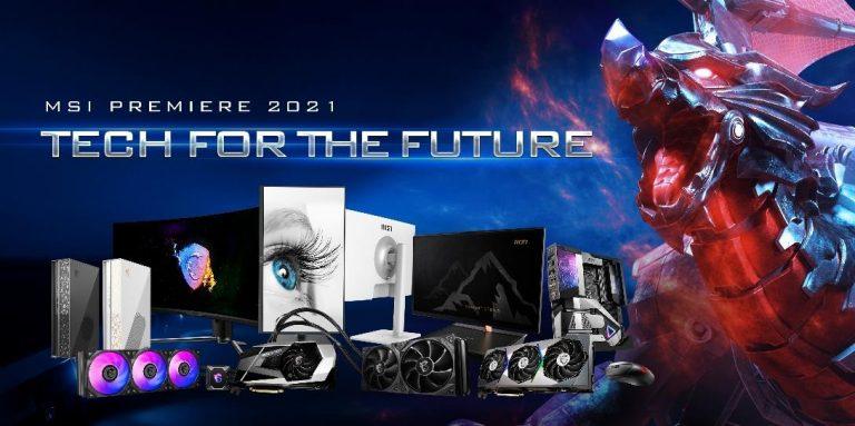'MSI Premiere 2021: Tech for the Future', MSI Ungkap Jajaran Perangkat Gaming & Komputasi