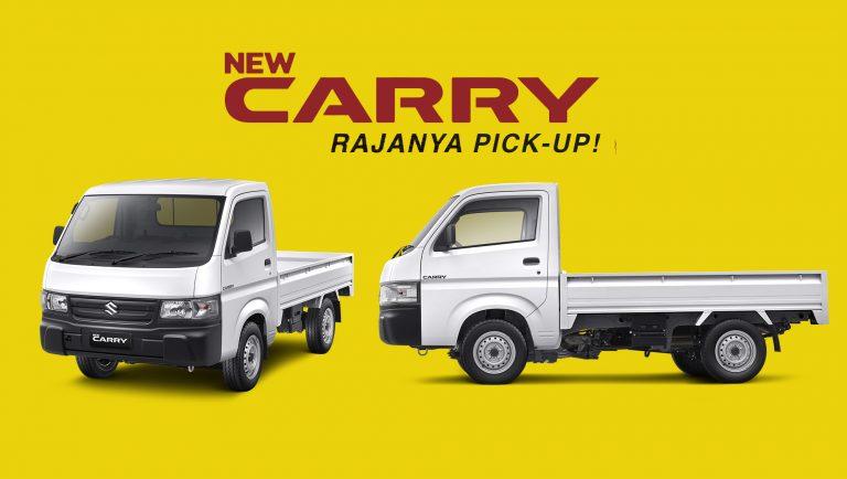 Suzuki Segarkan Penampilan New Carry Pick Up, Rezeki Makin Kenceng