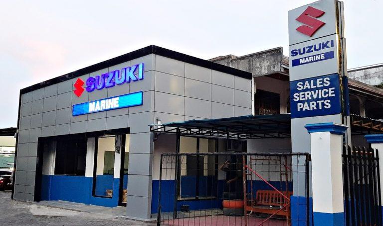 Terus Kembangkan Industri Maritim, Suzuki Resmikan Diler Karunia Jaya Marine di Manado