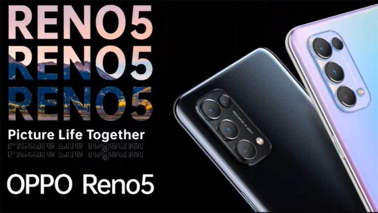 Oppo Resmi Hadirkan Oppo Reno5 di Indonesia, Harganya Rp 4.999.000