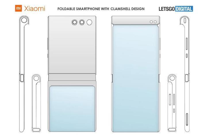 Xiaomi Kembali Patenkan 4 Desain Smartphone Lipat