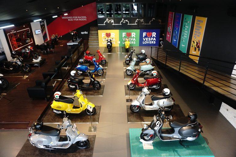 Umumkan Kemitraan Baru dengan Gaia Moto, Piaggio Indonesia Resmikan Dealer Premium Motoplex Antasari