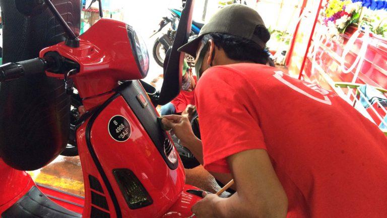SCT – AJM Cibubur Sukses Diresmikan, Outlet Khusus Merawat dan Laminating Sepeda Motor
