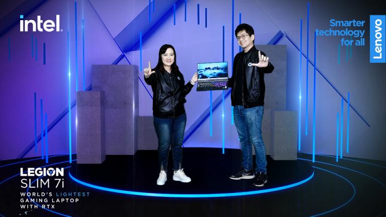 Harga Mulai Rp28 Juta, Laptop Gaming Teringan Di Dunia 'Legion Slim 7i' Resmi Hadir di Indonesia