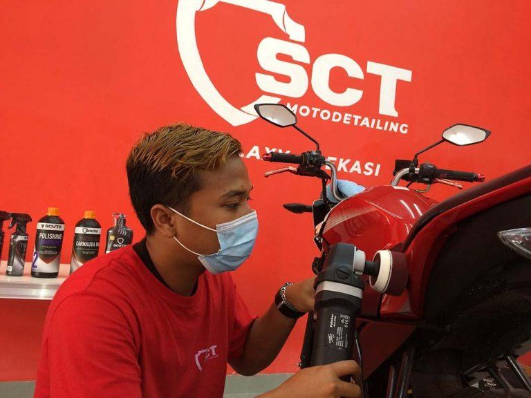 SCT Galaxy Bekasi Suguhkan Cara Baru Merawat Sepeda Motor
