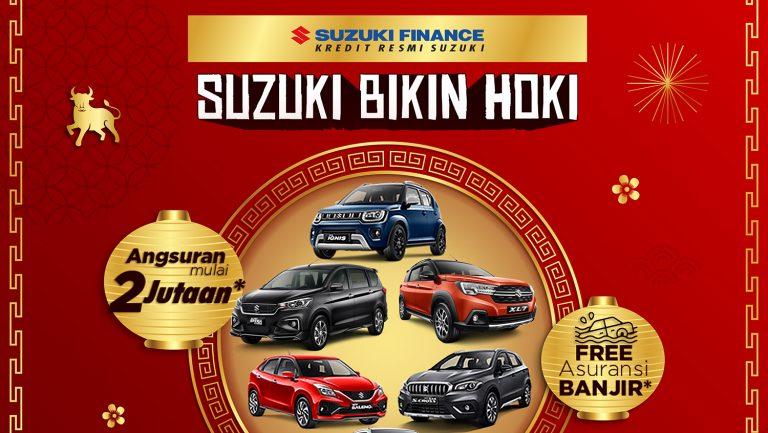 Beli Mobil Suzuki di Februari – Maret 2021, Konsumen Bisa Dapatkan Gratis Asuransi Banjir