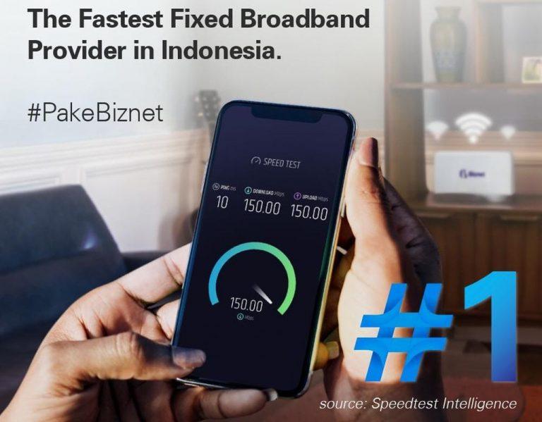 Menurut Speedtest, Biznet Menjadi Provider Internet Broadband Tercepat di Tanah Air