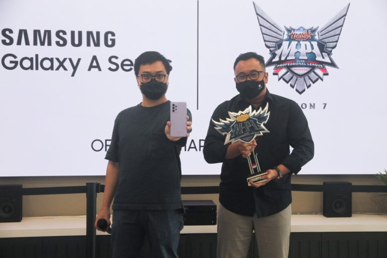 Awesome Gaming Experience, Samsung Galaxy A32, A52, dan A72 Jadi Official Smartphone MPL Indonesia season 7 dan 8