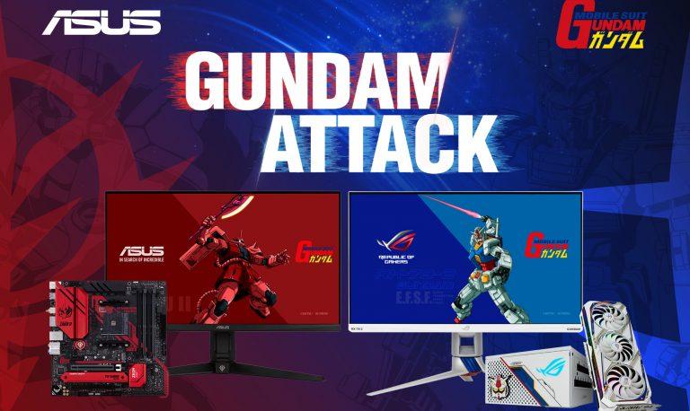 Asus X Gundam Series Sudah Siap Dijual di Indonesia