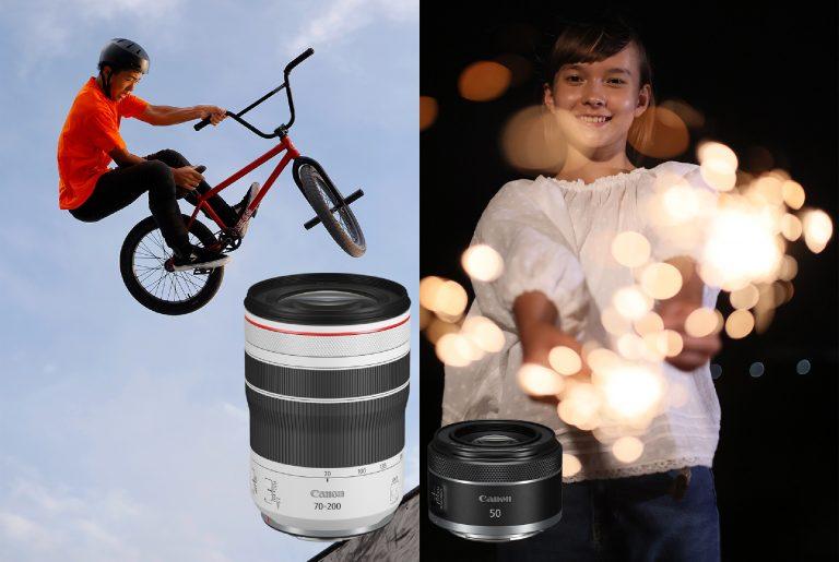 Canon Hadirkan 2 Lensa RF Terbaru dengan Harga Ekonomis