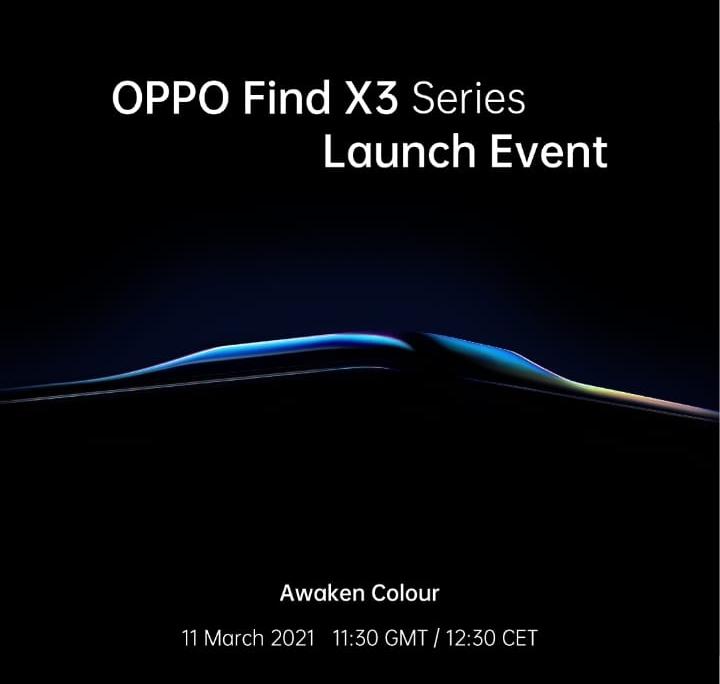 Oppo Find X3 Pro, Smartphone Satu Miliar Warna Pertama di Dunia akan Meluncur 11 Maret Mendatang