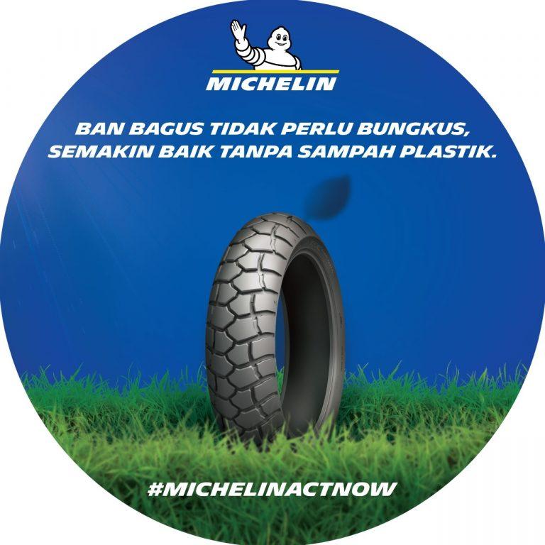 Tiadakan Bungkus Plastik Pada Ban Motor, Michelin Indonesia Klaim Performa Tetap Baik