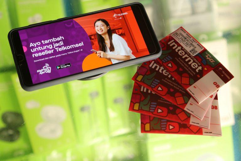 Buka Akses ke DigiPOS Aja!, Telkomsel dan Gojek Perkuat Sinergi untuk Pemberdayaan Mitra UMKM