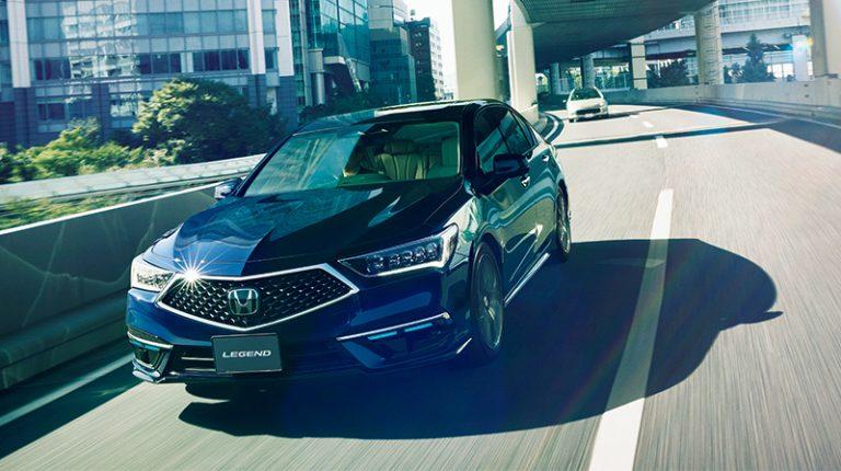 All New Legend Hybrid EX Dilengkapi Honda Sensing dan Fitur 'Traffic Jam Pilot'
