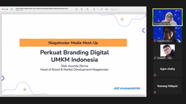 Niagahoster Luncurkan Etalase Digital, Bantu UMKM Indonesia Perkuat Branding Digital