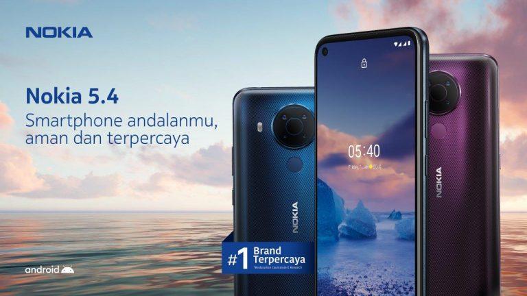 HMD Global Resmi Boyong Nokia 5.4 ke Tanah Air, Harga Rp3 Jutaan