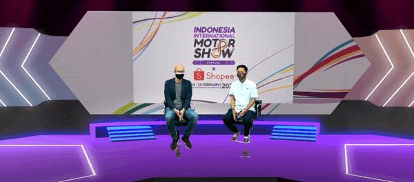 Jadi Pelopor Pameran Otomotif Virtual, IIMS Virtual 2021 x Shopee Bukukan Transaksi Rp14 Miliar