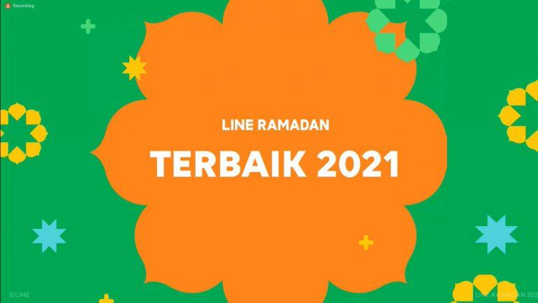 """Bawa Tema """"Terbaik"""", Line Ramadan 2021 Maksimalkan Fitur Unggulan Line untuk Berbagi Kebaikan"""