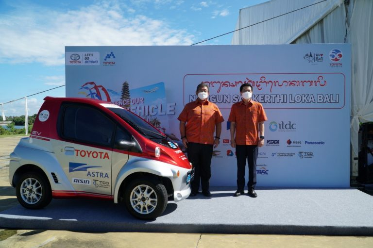 MSIG Indonesia Dukung Kehadiran Toyota EV Smart Mobility Project