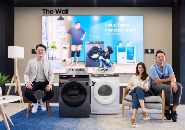 Samsung Merilis Mesin Cuci Cerdas Samsung Smart EcoBubble™ Washer, Ini Sederet Keunggulannya