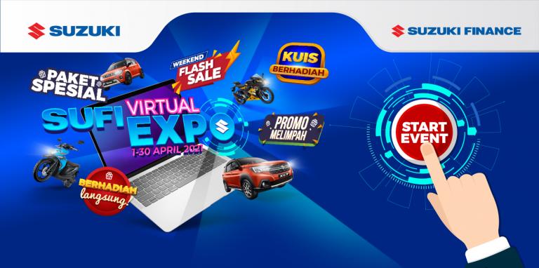 Mau Dapat Diskon Mobil Suzuki? Yuk Kunjungi Suzuki Finance Virtual Expo 2021