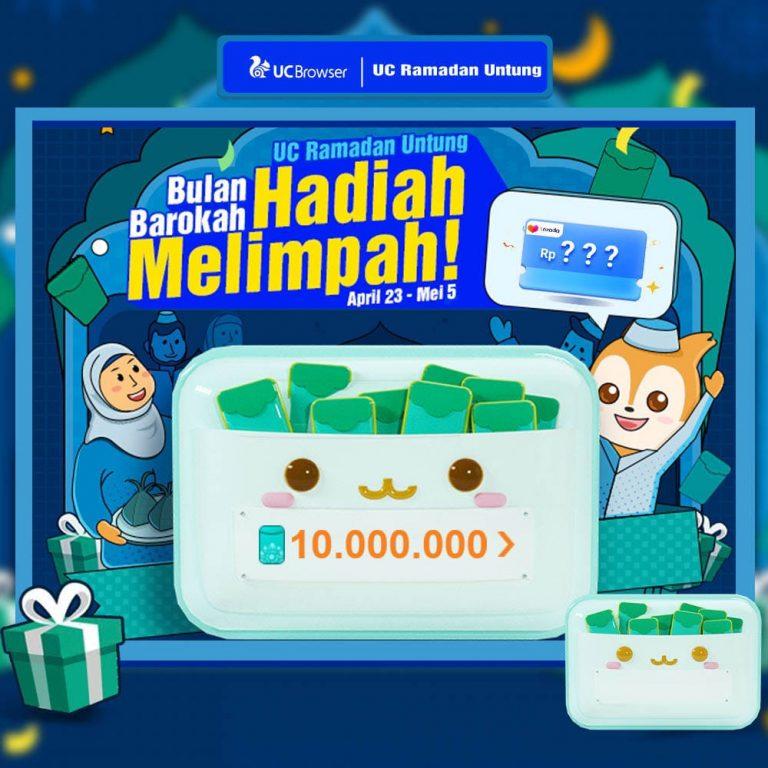 Rayakan Bulan Barokah, UC Browser Kembali Bagi Hadiah dalam Kampanye 'UC Ramadan Untung'