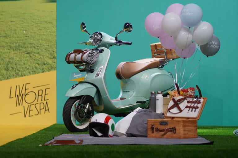 Piaggio Indonesia Resmi Merilis Vespa Picnic Limited Edition, Harga Rp50 Juta