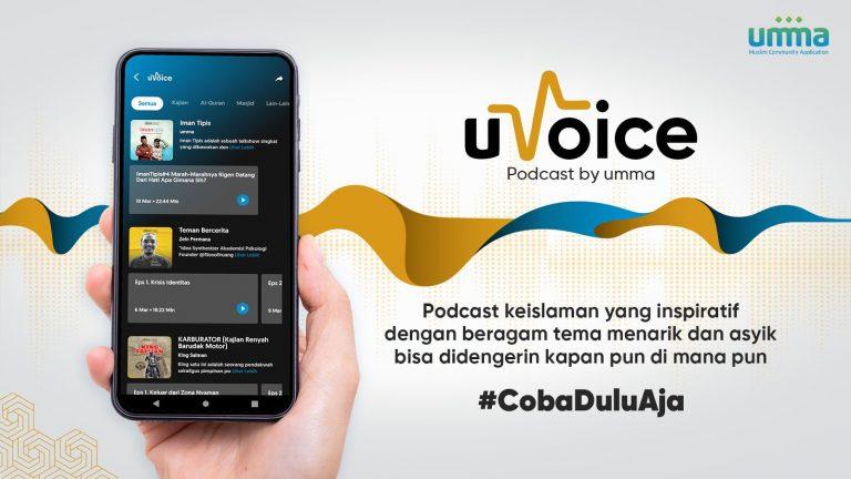 Aplikasi Umma Ajak Masyarakat Upgrade Iman Melalui Program uVoice