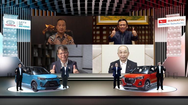 Kolaborasi Toyota, Daihatsu, dan Astra Telurkan 'Sinergi untuk Negeri'