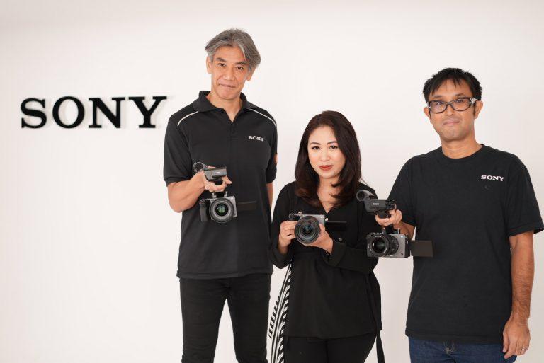 Lengkapi Jajaran Kamera Cinema Line, Sony Indonesia Resmi Hadirkan Kamera Cinema Line FX3