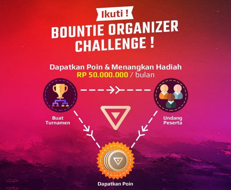 Bountie.io Rilis Kampanye Unik, Bagi-bagi Rp 1 Miliar Kepada Average Gamer dan Penyelenggara Turnamen